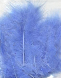 Marabou veren blauw 15 ST