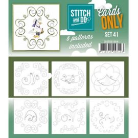 Stitch and Do only cards set 41