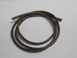 Koord imitatieleer bruin 4mm 1 mtr 1 ST 12252-5202