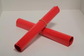 S0067  Neon Red Flock 30 x 50 cm