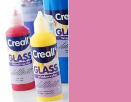 Creall Glass - glasstickerverf roze 1 FL - 80 ML 20522
