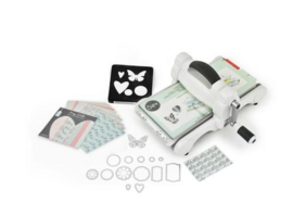Sizzix Big Shot Starter Kit White & Grey ft. MLH 661545
