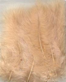 Marabou veren beige 15 ST