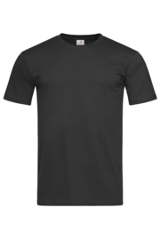 Classic-T Fitted Men Zwart