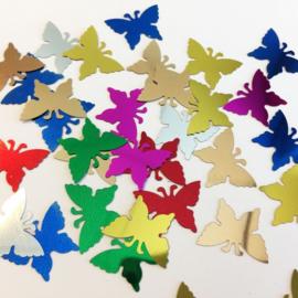 Confetti vlinder assorti 10gr 12421-2110