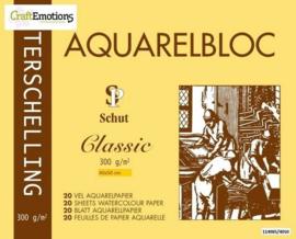 Schut Terschelling Aquarelblok glad 40x50cm 300 gram - 20 sheets