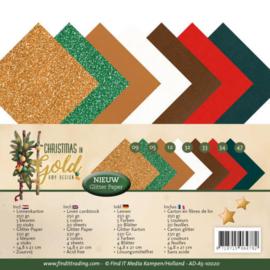 Linnenpakket - A5 - Amy Design - Christmas in Gold