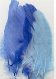 Veren blauw mix 12,5-17,5 cm 15 ST
