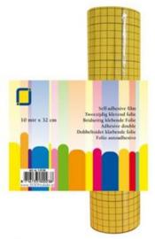 1 RL (10MTR) Sandy Art®2-zijdig klevend folie (raster) 32 mm
