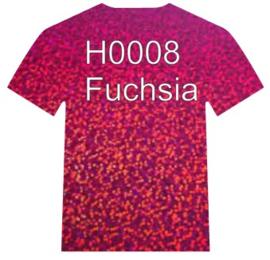 H0008    Siser Holographic  Fuchsia