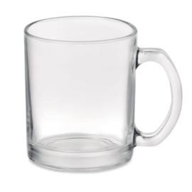 Glanzende glazen mok  300 ml met speciale coating voor sublimati