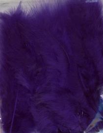 Marabou veren paars 15 ST