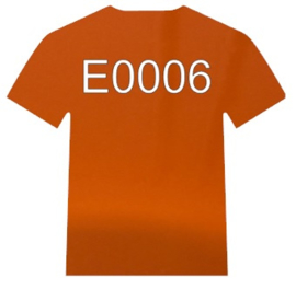 E0006  Electric Oranje Siser
