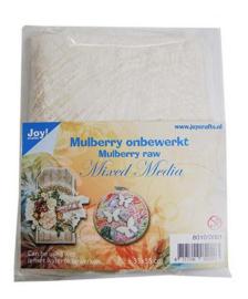 Joy! Crafts Mulberry boombastvezels voor Mixed Media 8010/0001 ca35x35 cm