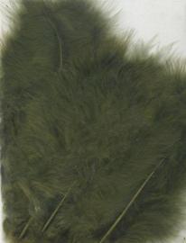 Marabou veren olijf 15 ST