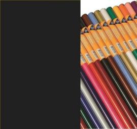 Haza  Zijdevloeipapier zwart 18gr 5VL 50x70cm