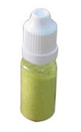 Nellie's Choice flesje ultra fine glitter Helder Geel GLIT009