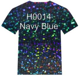 H0014  Siser Holographic  Navy Blue
