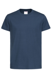 Classic-T Crew Neck Kids  navy blue S (122/128)