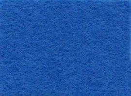 Viltlapje viscose middenblauw 20x30cm - 1mm   1 vel