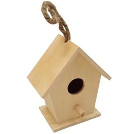 Vogelhuisje Vierkant Klein