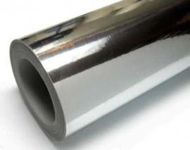 Zilver Statische raamfolie