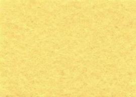 Viltlapje viscose lichtgeel   20x30cm - 1mm  1 vel