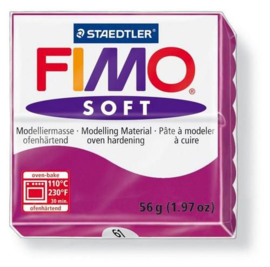 Fimo Soft paars 57 GR 8020-61