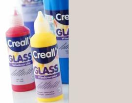 Creall Glass contour -  glasstickerverf zilver 1 FL - 80 ML 20112