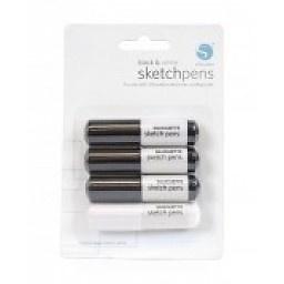 Silhouette Sketch Pen-zwart/wit