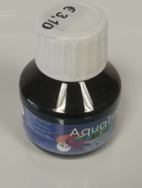 Collall AquaTint - vloeibare waterverf sienna 50ml COLAQ05043