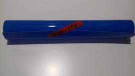 doorzichtige blauwe statische raamfolie 90 cm