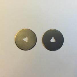 Reserve mesjes voor rotary cutter 28mm - 2 st. recht 12411-1132