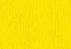 1 pak Crepepapier geel 250X50CM