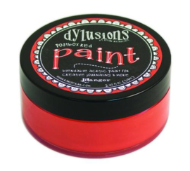 Ranger Dylusions Paint 59 ml - postbox red DYP46028