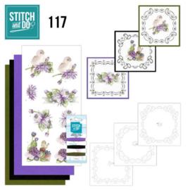 117 Stitch and Do  Chrysanthemum