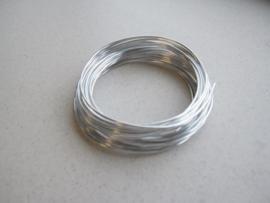 Aluminiumdraad zilverkleur 2 mm 4 MT