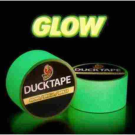 Duck tape 48 mm x 3 m, Glow in the dark