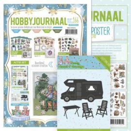 Hobbyjournaal  166 met knipvellen posters en mal