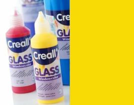 Creall Glass - glasstickerverf donkergeel 1 FL - 80 ML 20505