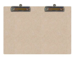 Clipboard Double A5, 2 hang clips 461.941.711 A5