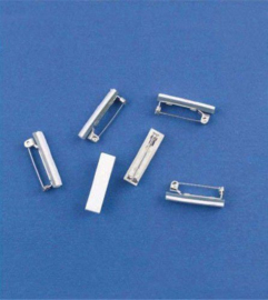 Brochespelden met zelfklevend foam 25 mm 6 ST 11808-1151