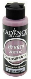 Cadence Hybride acrylverf (semi mat) Camelot bruin 01 001 0029 0120 120 ml