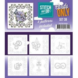 Stitch and Do only cards set 38