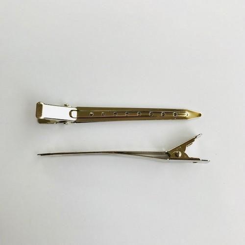 Hairclip 9 cm zilverkleur