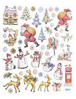HOBBY-Design Stickers Kerst VI