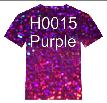 H0015  Siser Holographic  Purple