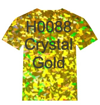 H0088  Siser Holographic  crystal Gold