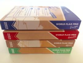 World Flag Pins - Azië & Oceanië