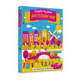 Crumpled City Map Junior - Amsterdam